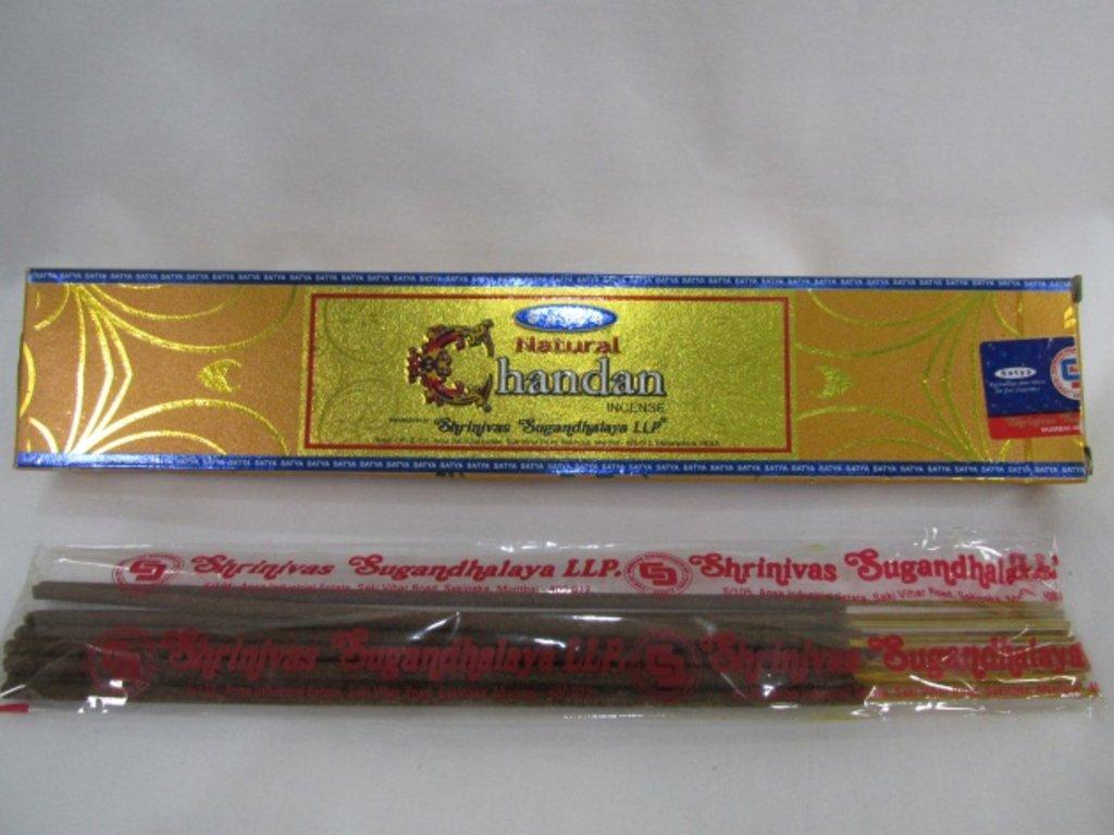 Благовония: Аромапалочки Natural CHANDAN Satya в Шамбала, индийская лавка