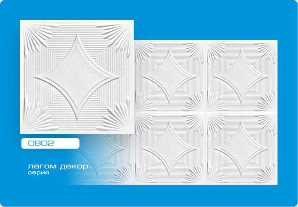 Потолочная плитка: Плитка ЛАГОМ ДЕКОР экструзионная 0802 в Мир Потолков