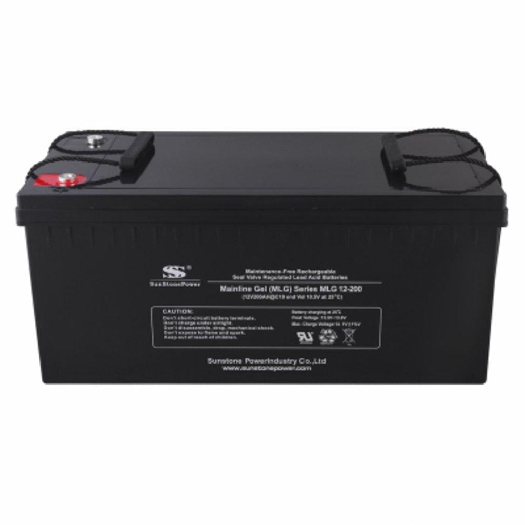 Гелевые: Аккумулятор SunStonePower MLG12-200 в Горизонт