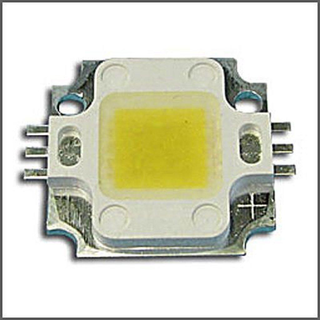 Светодиоды, светодиодные матрицы, термопаста: Мощный светодиод HPR20D-19K10WHB (10W White 6000K) в СВЕТОВОД