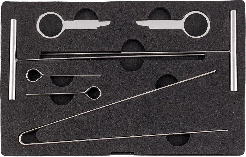 Инструмент для ремонта и диагностики деталей кузова и салона автомобилей: KA-6511K съемник панели приборов MERCEDES в Арсенал, магазин, ИП Соколов В.Л.