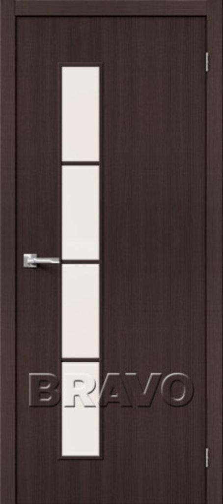 Двери экошпон BRAVO: Тренд-4 Wenge Veralinga в STEKLOMASTER