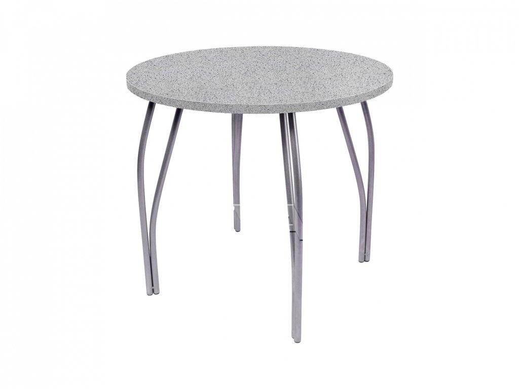 Столы кухонные: Стол обеденный круглый LС (OC-11) (металлик) в АРТ-МЕБЕЛЬ НН