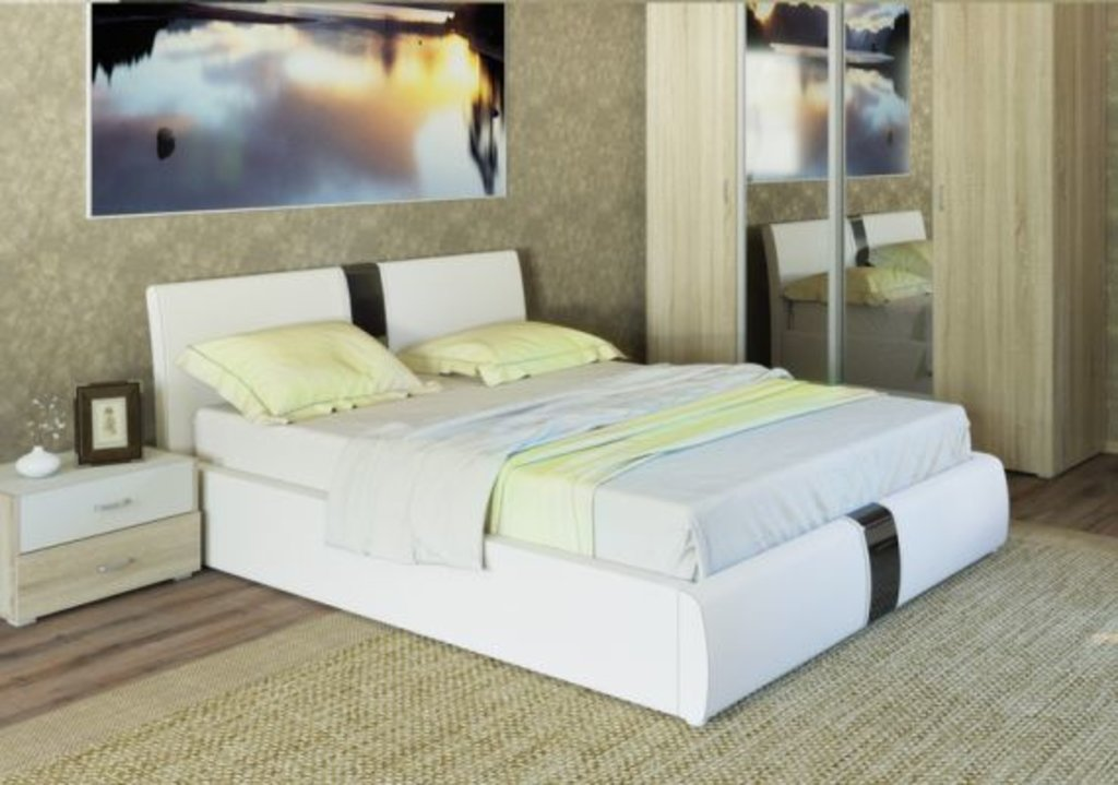 Мебель для спальных комнат, общее: Интерьерные кровати в Мебель ХИТ