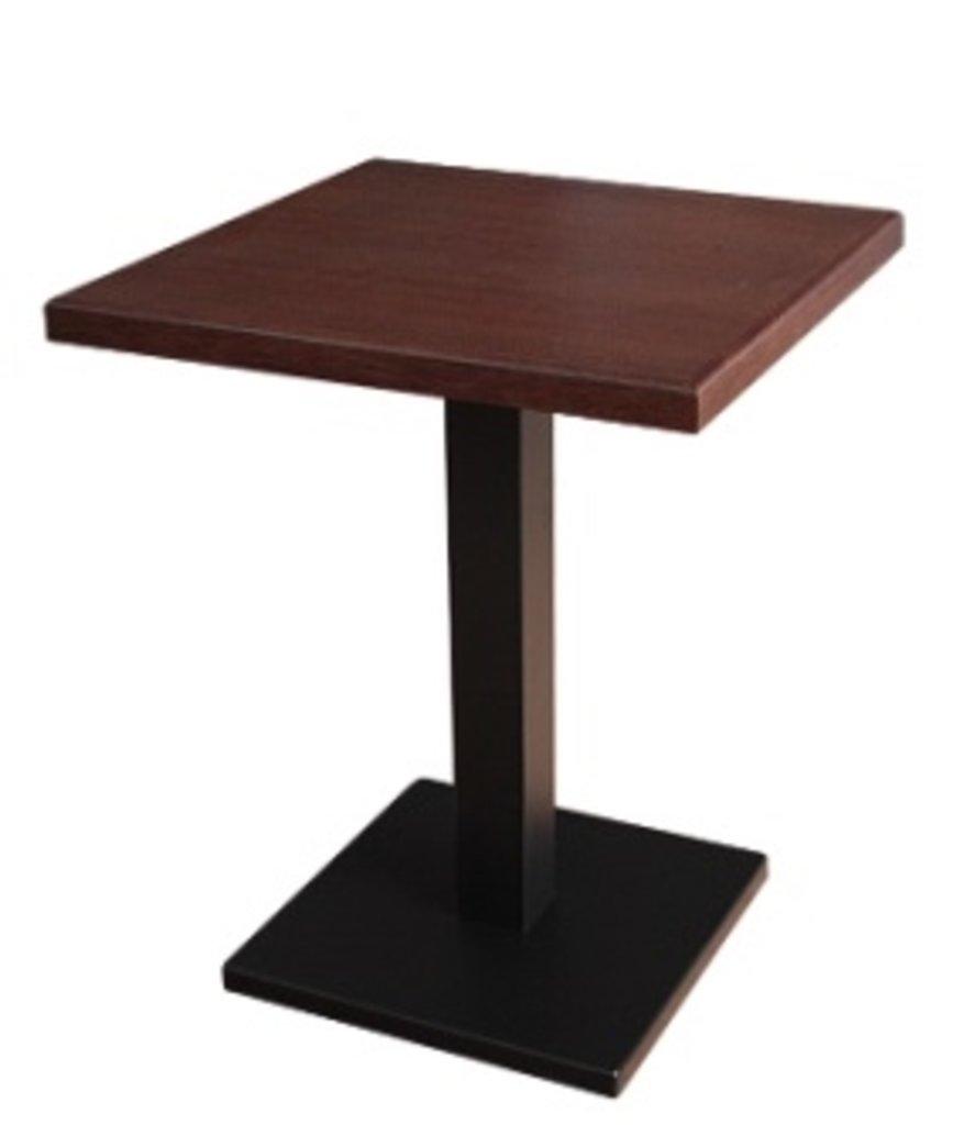 Столы для ресторана, бара, кафе, столовых: Стол квадрат 800х800, подстолья 01 С-60 чёрная в АРТ-МЕБЕЛЬ НН