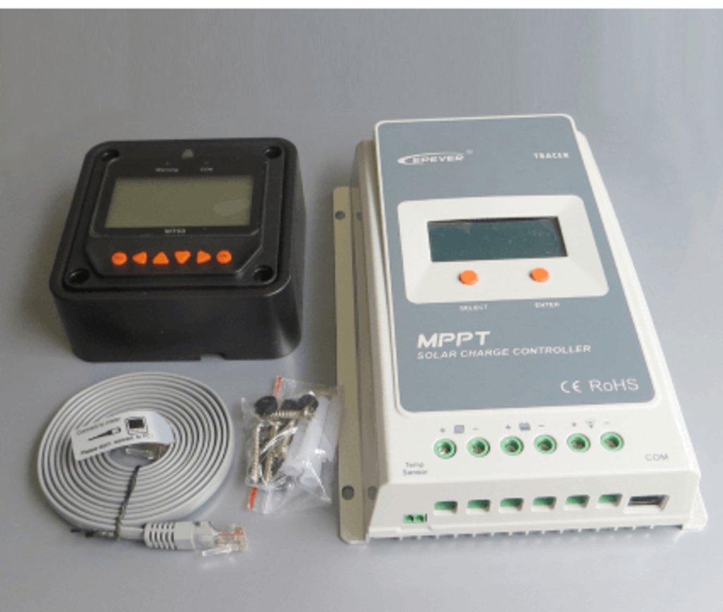 MPPT контроллеры: Контроллер заряда EPSolar Tracer 4210A в Горизонт