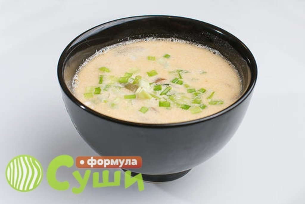 Супы закуски: СЛИВОЧНЫЙ СУП в Формула суши