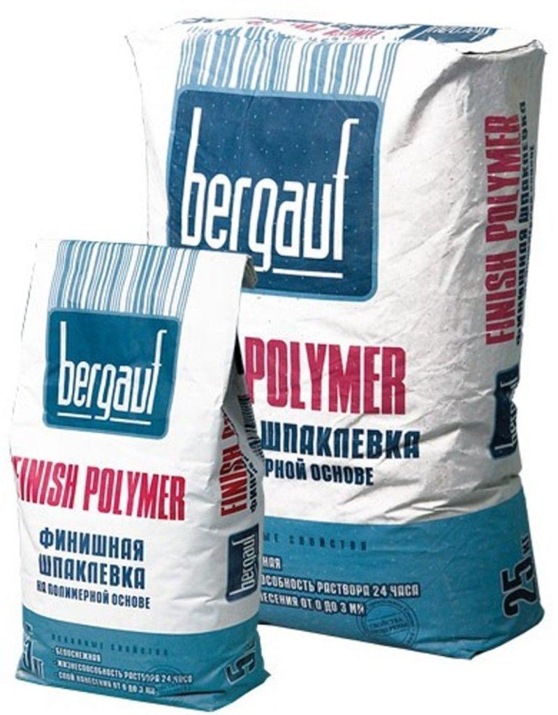 Сухие смеси Бергауф: Шпаклевка финиш на полимер.осн 5 кгFinish Polimer Bergauf в База строительных материалов ЯИК