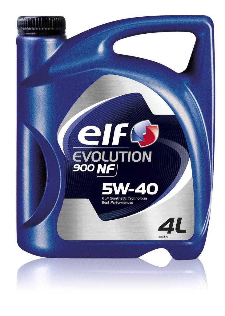 ГСМ: Масло ELF 5/40 Evolution 900 NF A3/B4, SL/CF синтетическое 4 л в MОТОР