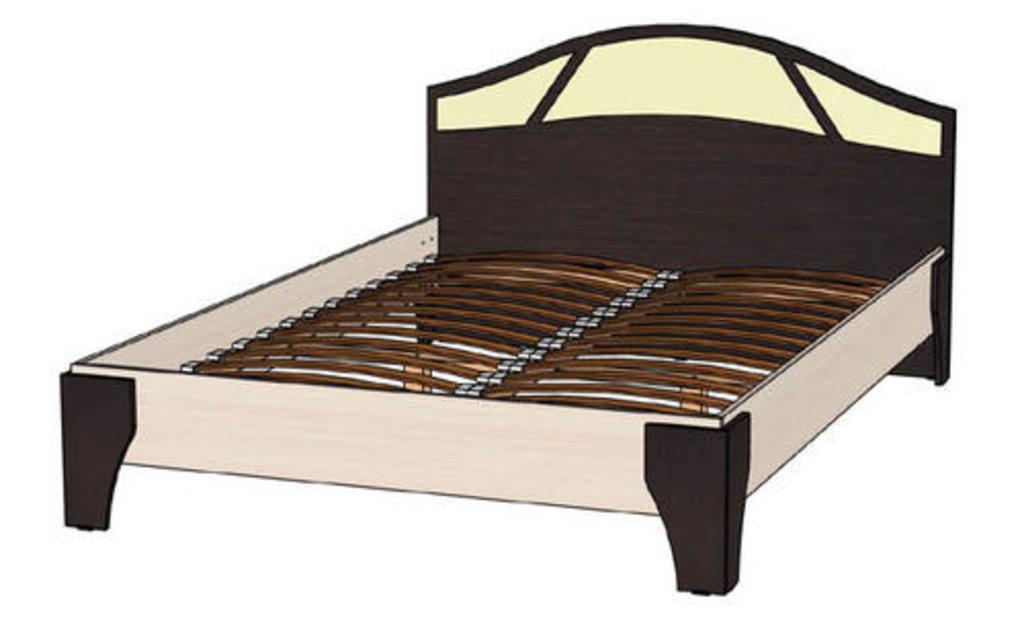 Мебель для спальни Верона. Модульная серия.: Кровать 2-х спальная 1400 Верона в Уютный дом