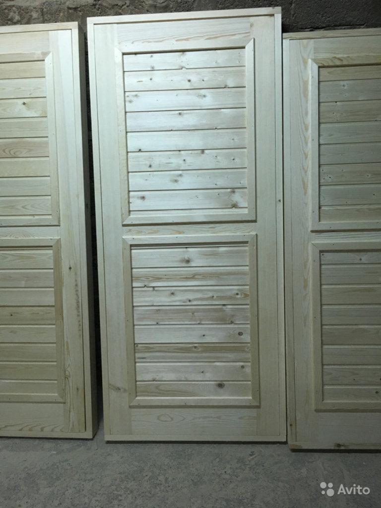 Двери: Двери деревянные (утепленные) в Отделочные материалы из дерева на Беляевской