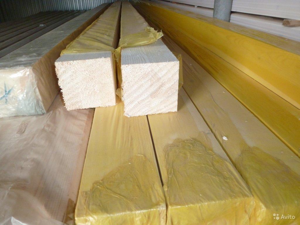 Стройматериалы: Брус 90x90 (6м) сухой клееный строганный (6м) в Отделочные материалы из дерева на Беляевской