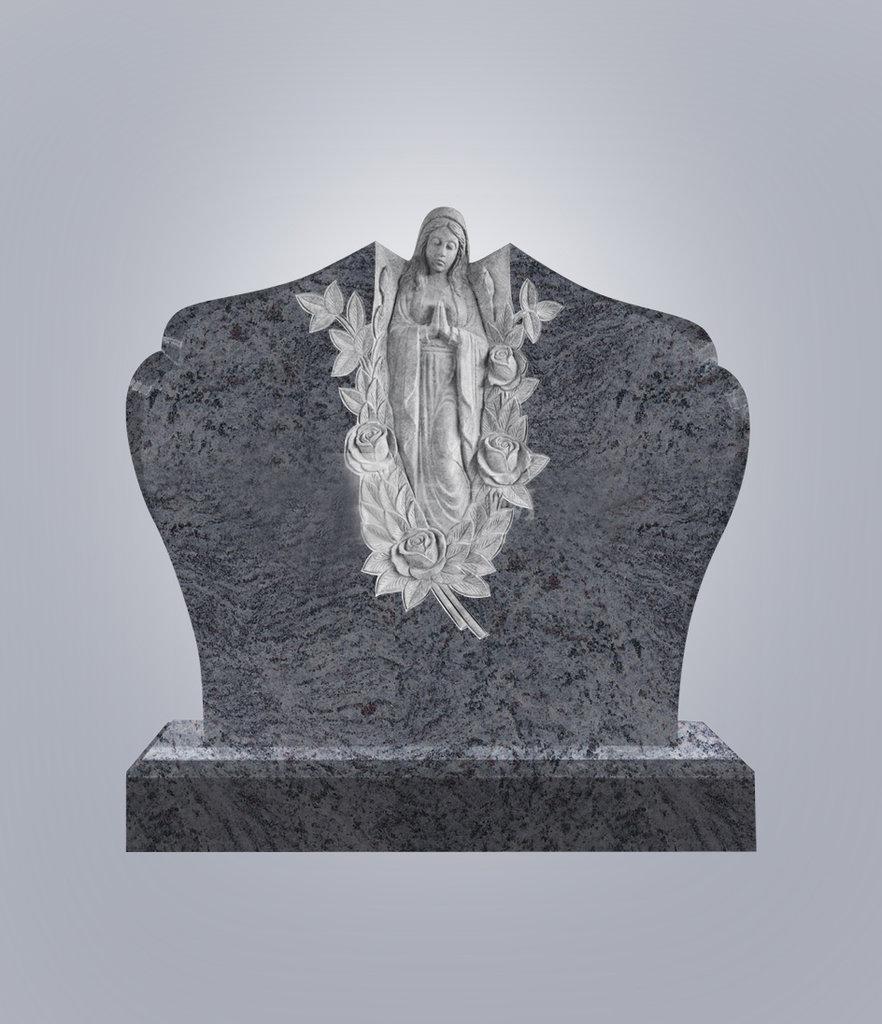 Элит: Памятник фигурный № 10 голубой гранит Элит в Милосердие
