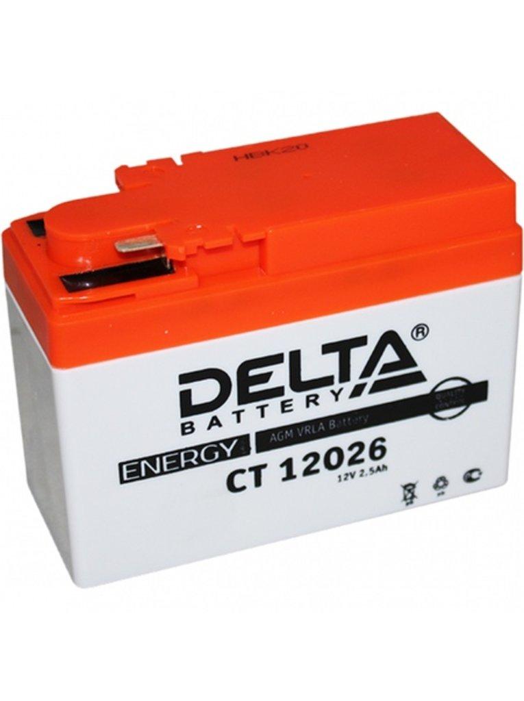 Delta: DELTA CT 12026 2.5 Ah в БазаАКБ