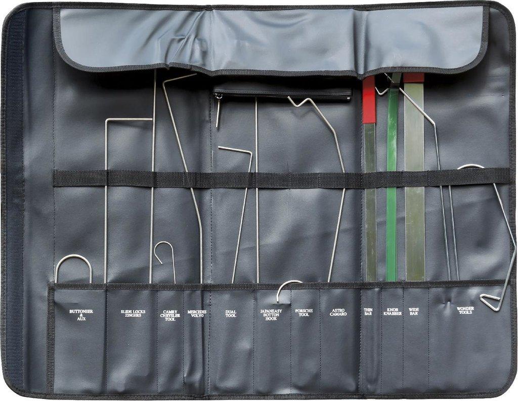 Инструмент для ремонта и диагностики деталей кузова и салона автомобилей: KA-6633 набор приспособлений для открывания дверей в Арсенал, магазин, ИП Соколов В.Л.