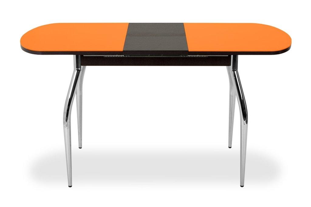 Столы кухонные: Стол ПГ-02 раздвижной (хром) в АРТ-МЕБЕЛЬ НН