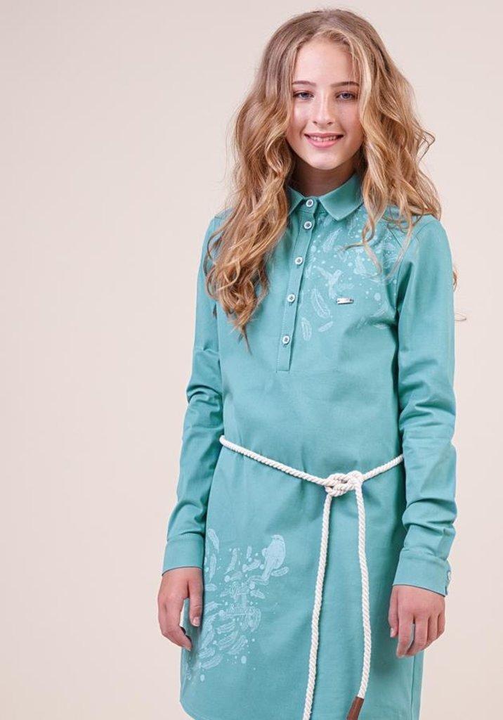 Одежда для девочек: Платье для девочки 38-8023-3 в Детский универмаг