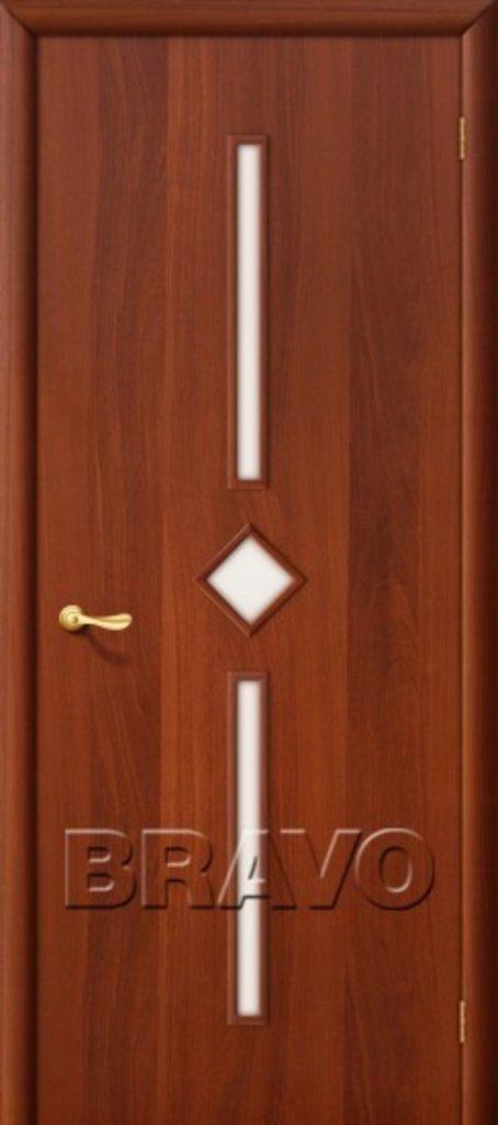 Двери ламинированные BRAVO: 9С Л-11 (ИталОрех) в STEKLOMASTER