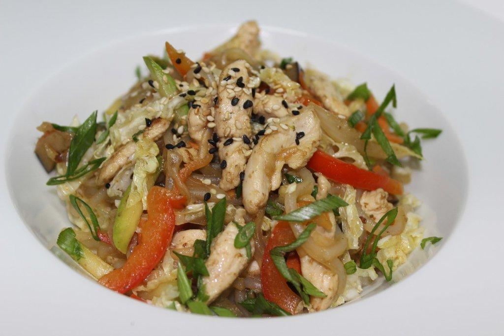 Китайская лапша: Рисовая лапша в Квартал