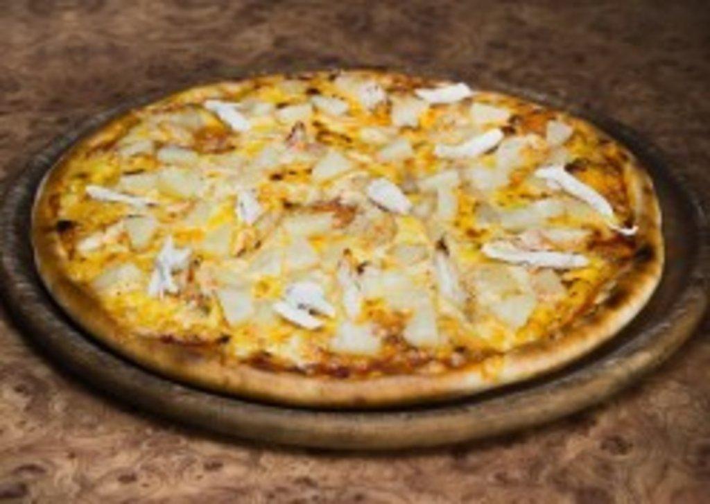 Пицца: Ананас и курица 750 гр. 30 см. в Коко-пицца