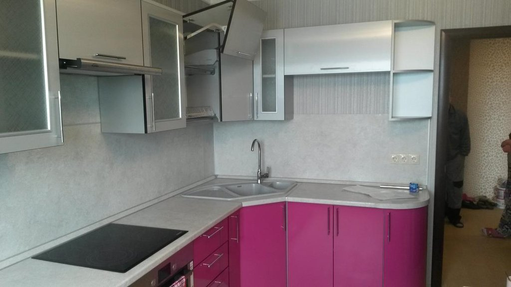 Кухни: Кухня 2 в Квадра Мебель