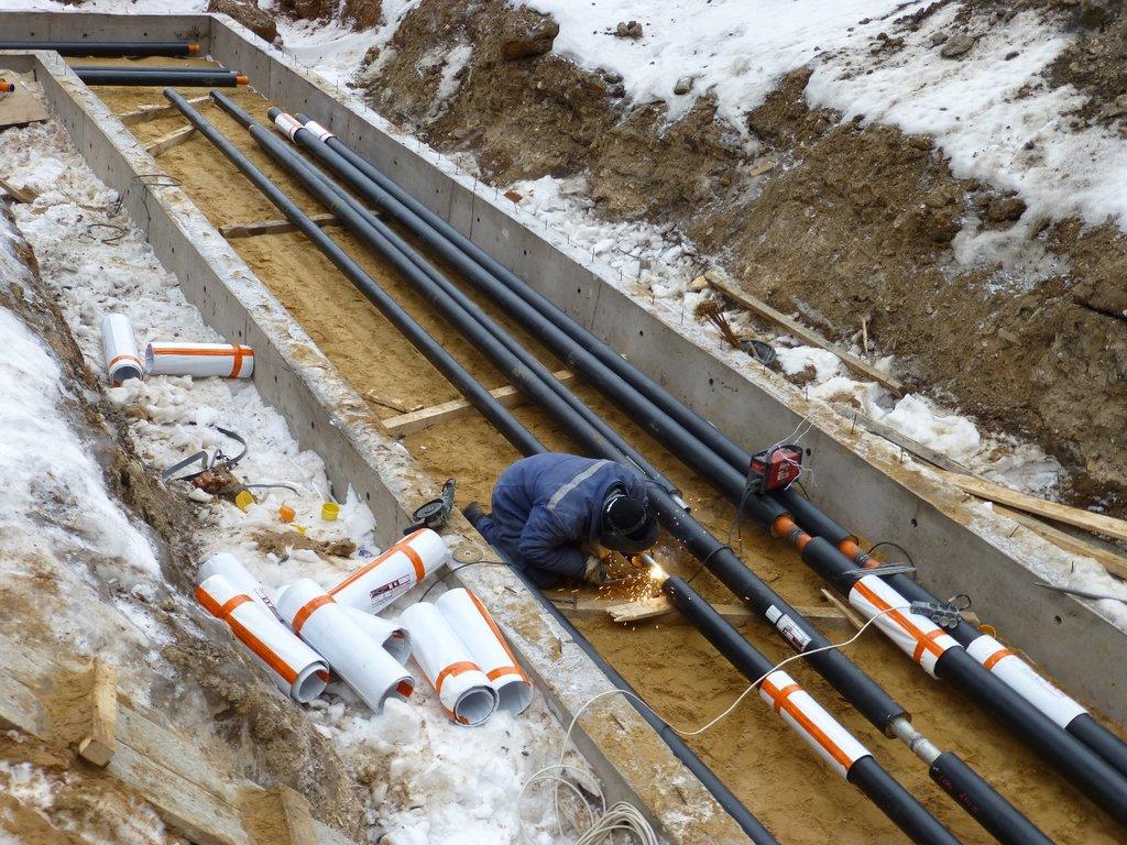 Монтаж наладка и ремонт инженерных систем, общее: Реконструкция и строительство инженерных сетей в Магистраль, ООО