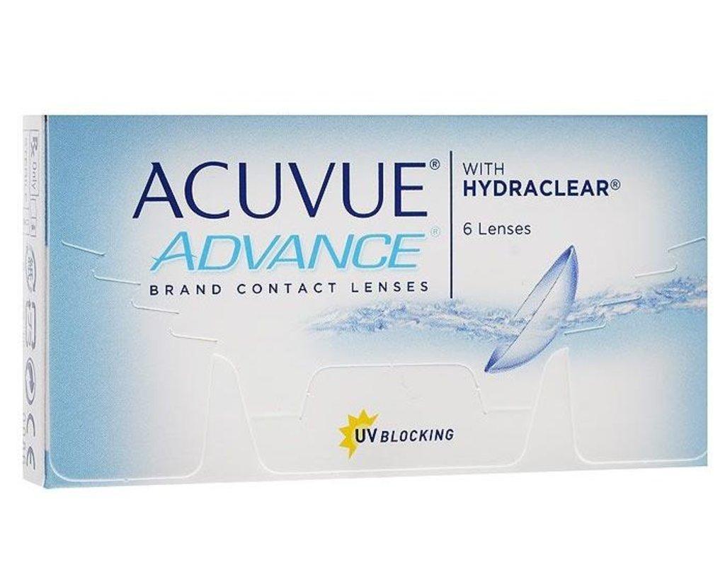 Контактные линзы: Контактные линзы Acuvue Advance (6шт / 8.3) Johnson & Johnson в Лорнет