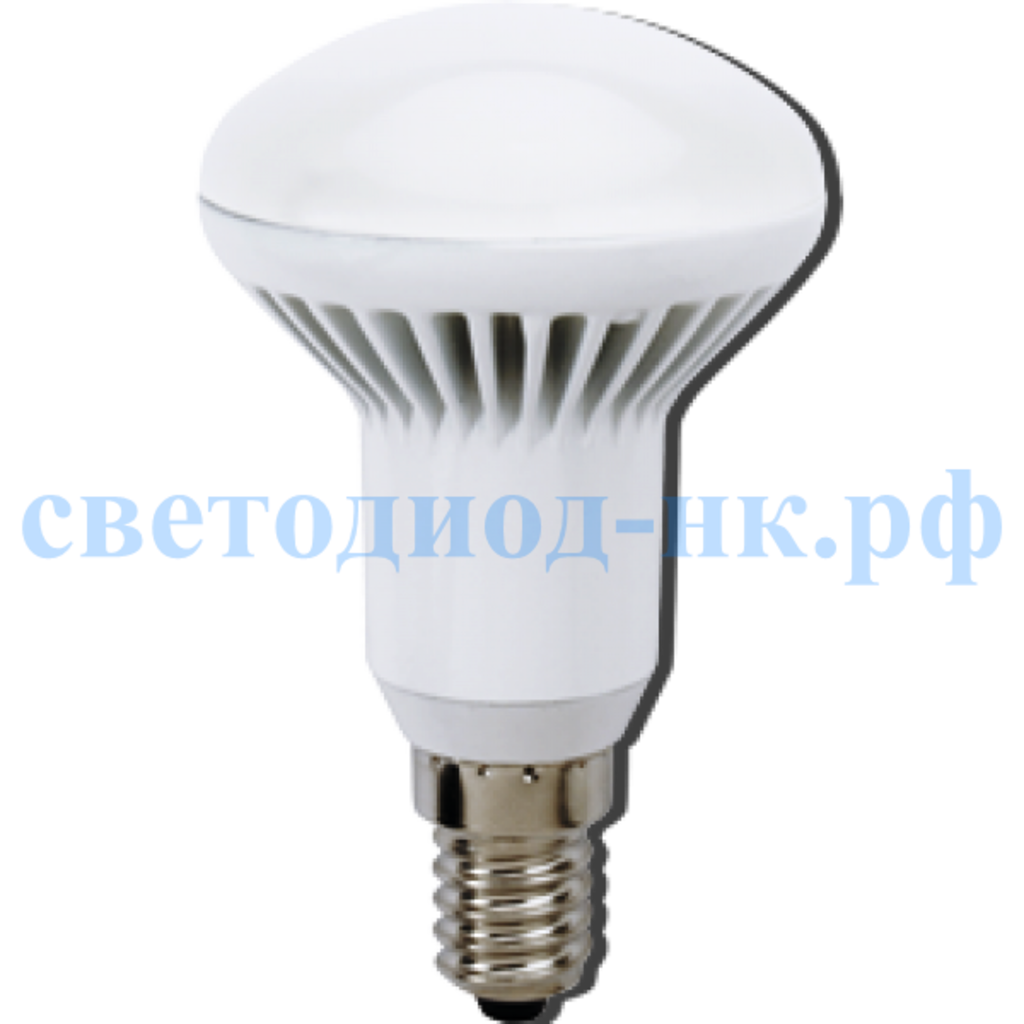 Цоколь Е14: Ecola Reflector R50   LED Premium  8,0W 220V E14 2800K (ребристый алюм. радиатор) 85x50  [G4AW80ELC] в СВЕТОВОД