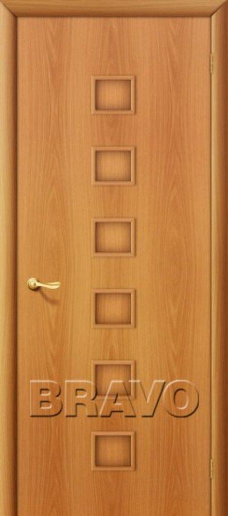 Двери ламинированные BRAVO: 1Г Л-12 (МиланОрех) в STEKLOMASTER