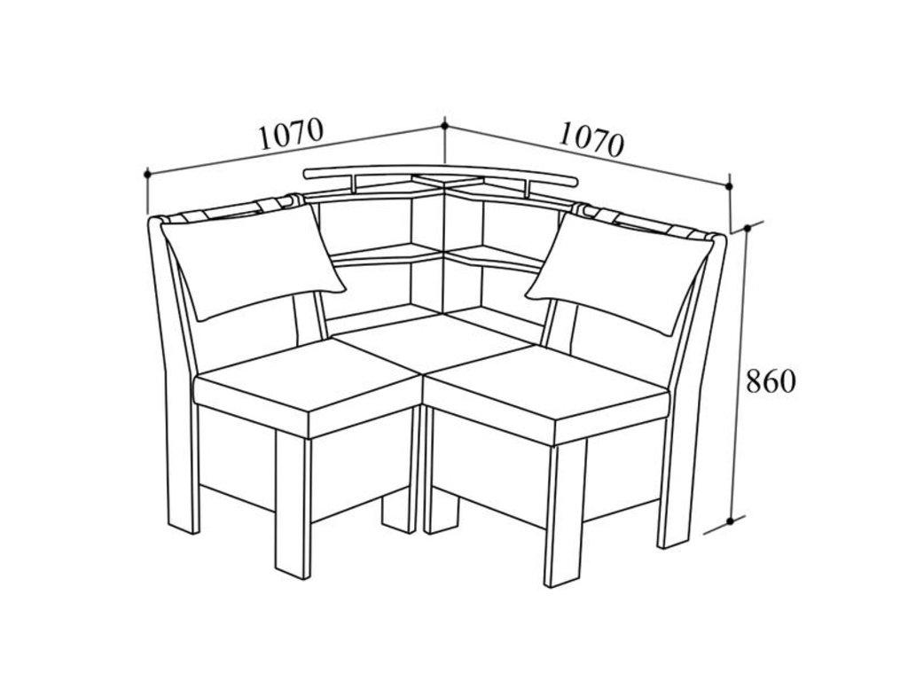 Модульная система Гранд: Кухонный уголок МС Гранд М в Уютный дом