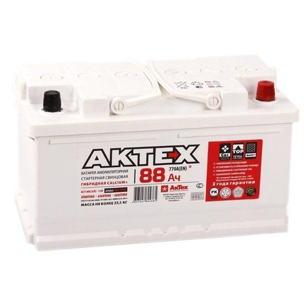 АКТЕХ: Аккумулятор AKTEX 6 СТ- 88 в БазаАКБ
