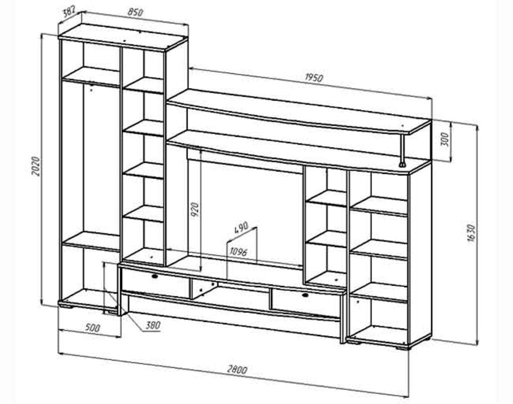 Мебель для гостиных, общее: Гостиная Даурия в Стильная мебель