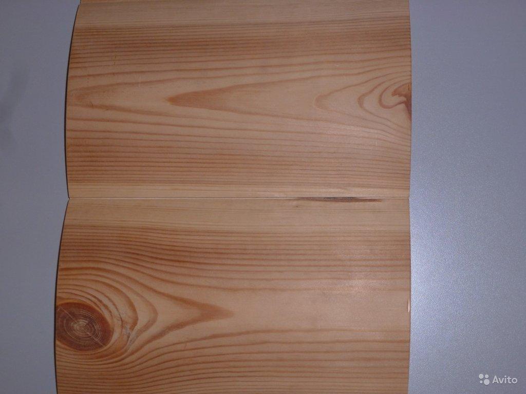 Стройматериалы: Блокхаус (имитация бревна) 6 м. -28x135 в Отделочные материалы из дерева на Беляевской