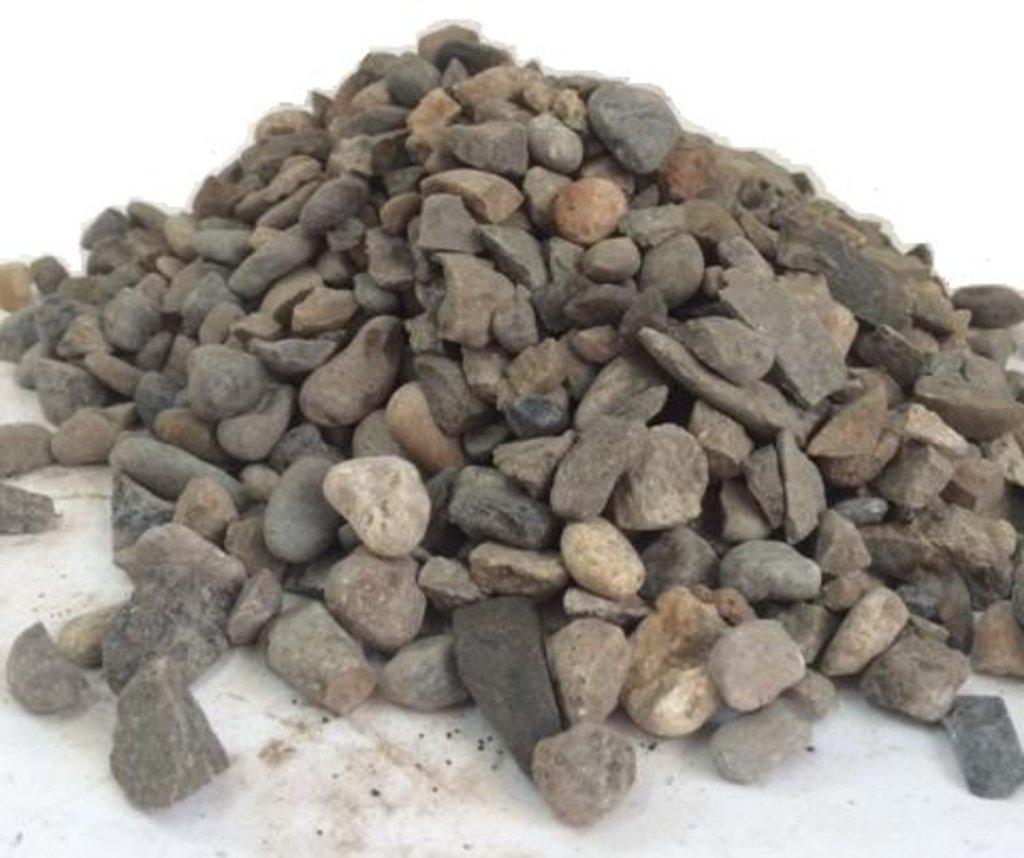Галька, щебень: Щебень из гравия фр.5-20мм (50кг) в 100 пудов