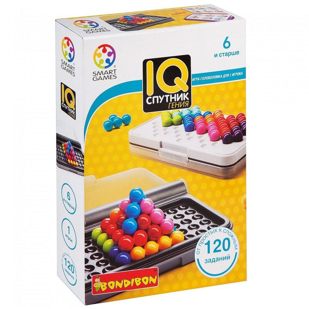 Настольные и спортивные игры: Логическая игра IQ-Спутник гения Bondibon в Игрушки Сити
