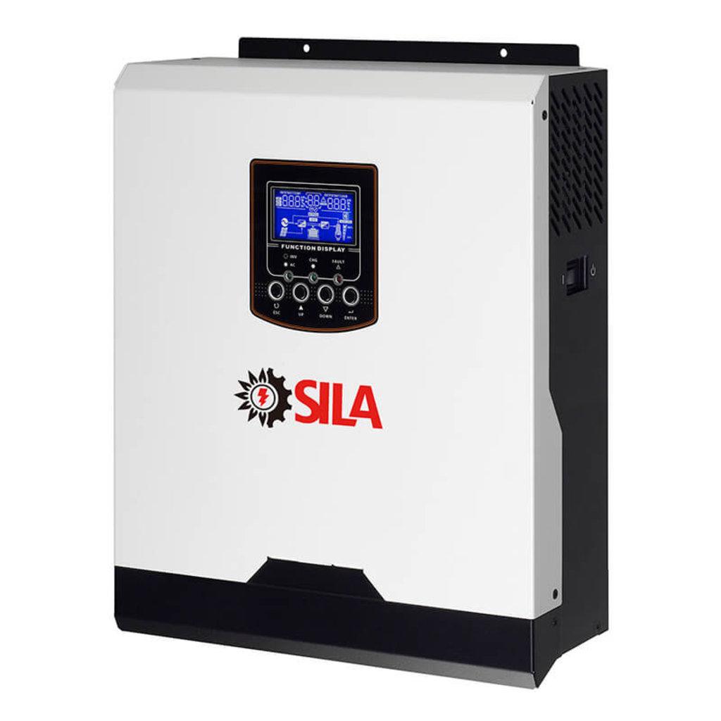 Гибридные инверторы: Гибридный солнечный инвертор SILA V 3000P ( PF 1.0 ) в Горизонт