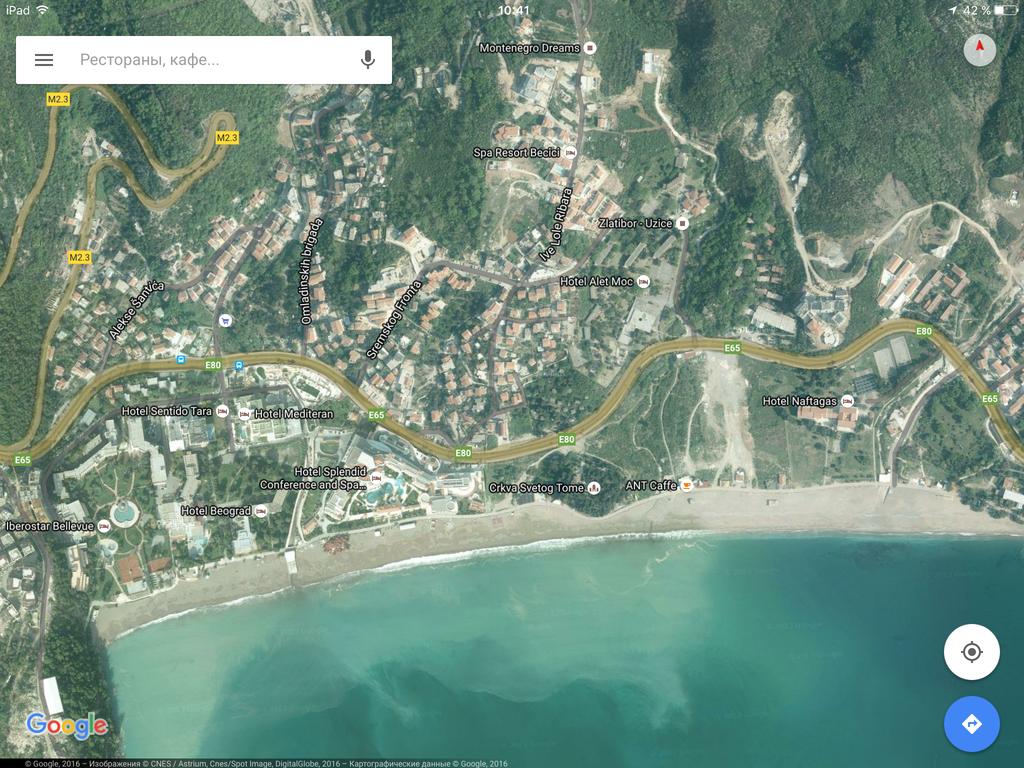 Аренда недвижимости в Черногории: Посуточно гарсоньерка в Бечичи. в Zevscomfort