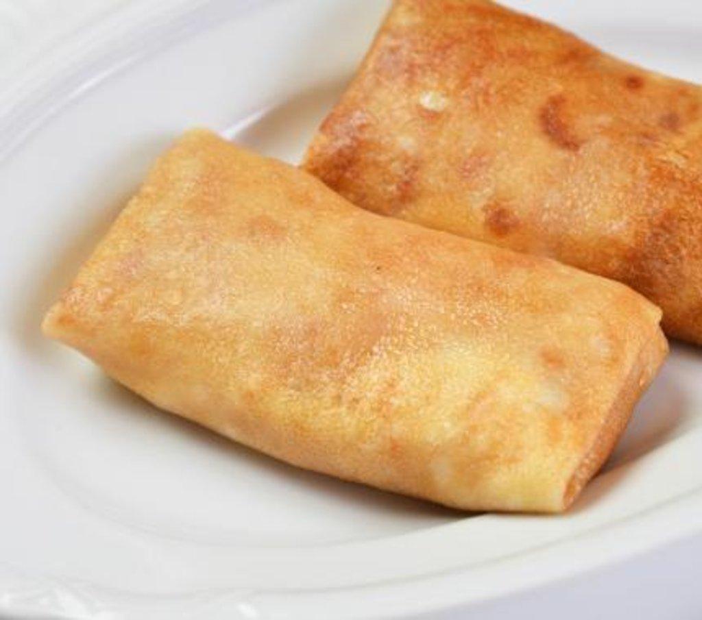 Завтрак: Блинчик с творожной начинкой в Царевы Пироги