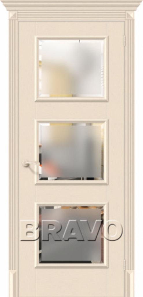 Двери экошпон BRAVO Classico: Классико-17.3 Ivory в STEKLOMASTER