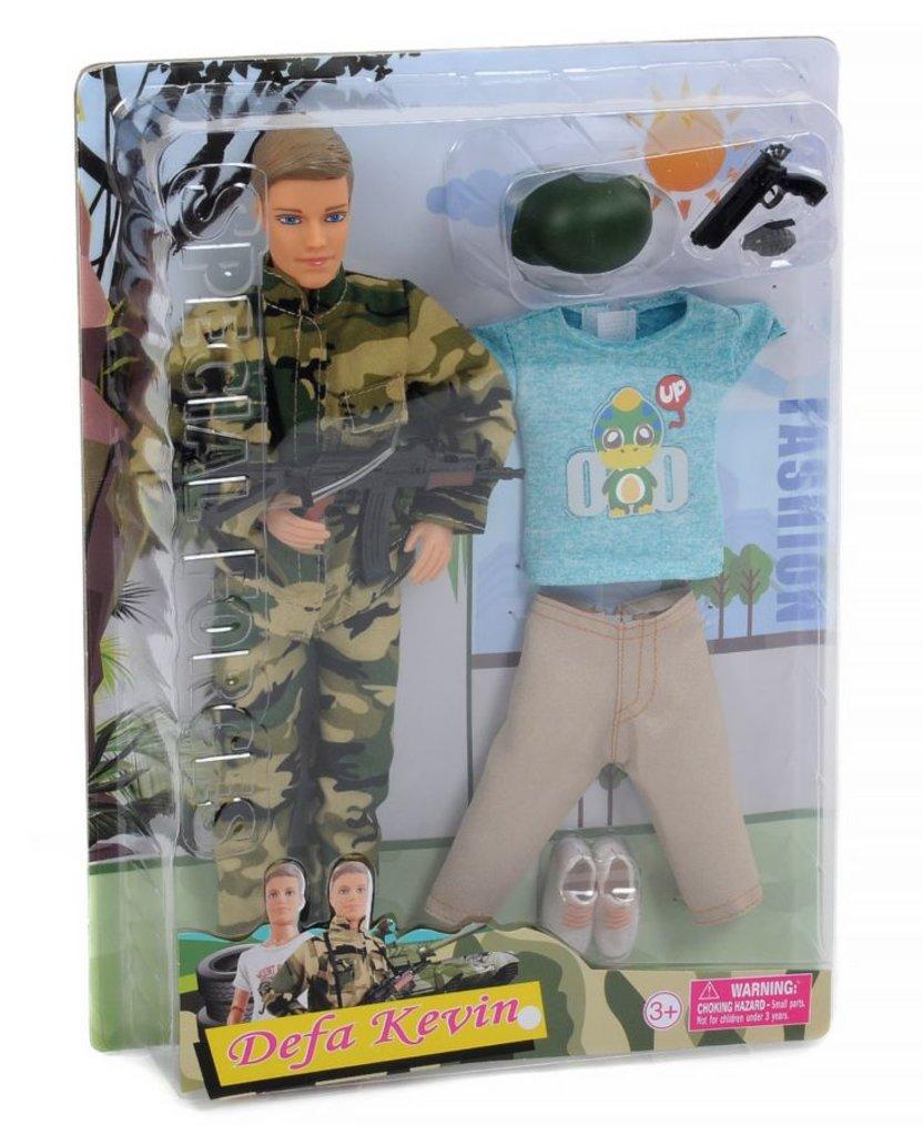 """Игрушки для девочек: Кукла """"Defa """"Военный"""" на блистере в Игрушки Сити"""