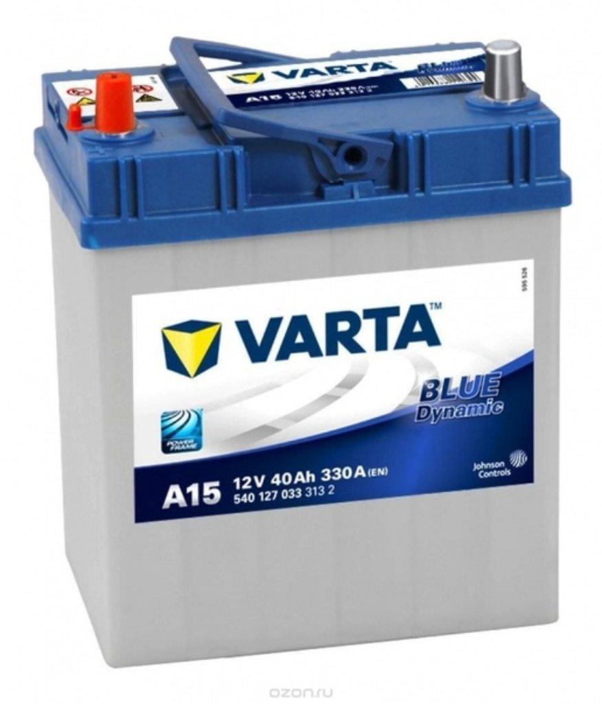 VARTA: VARTA Blue Dynamic 12V 40Ah 3 800 руб. в БазаАКБ