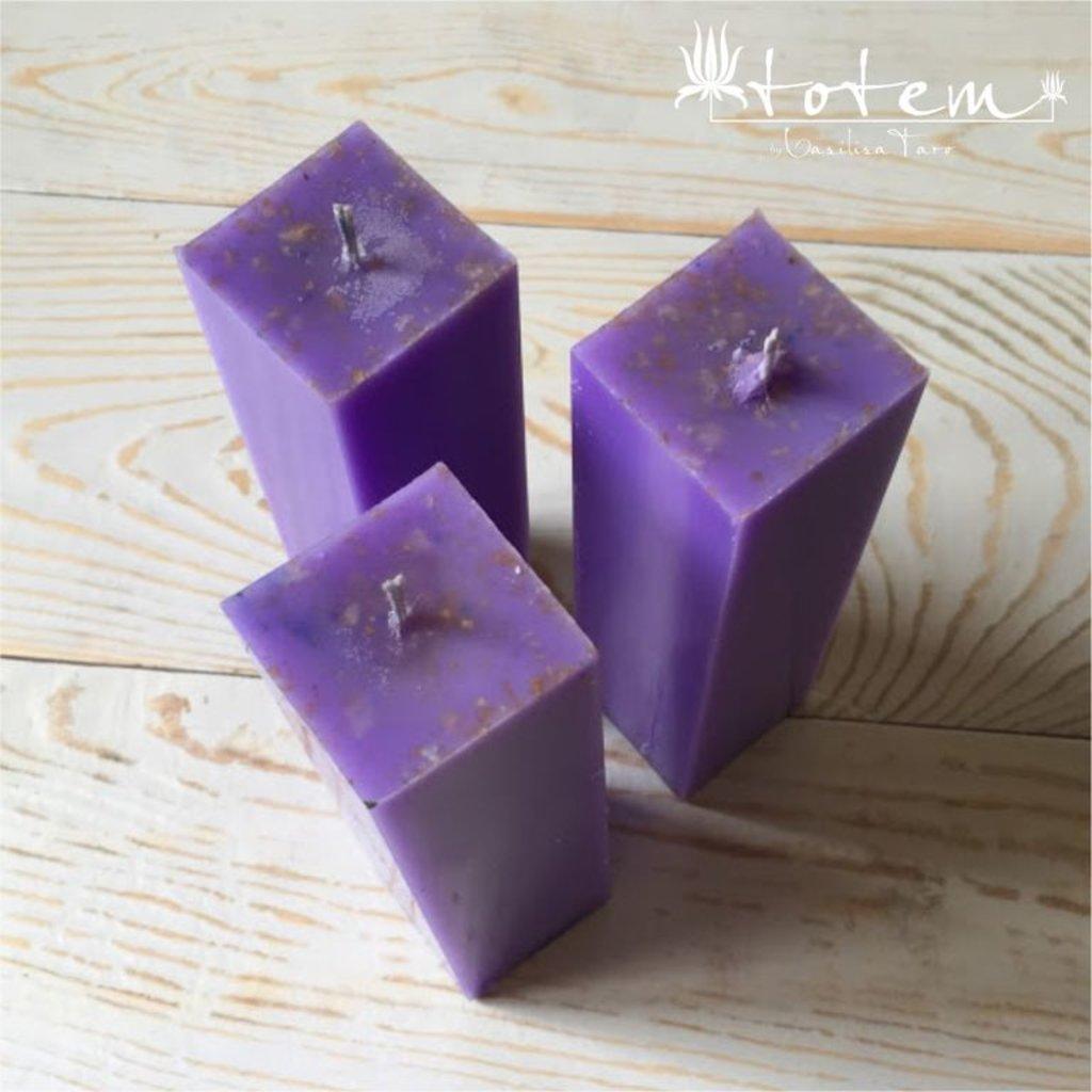 Свечи: Фиолетовая свеча в ТОТЕМ