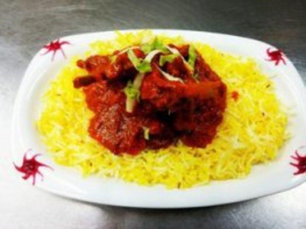 Горячие блюда: Лем чоп масала в Ganga