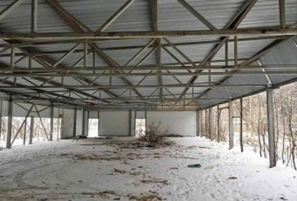Металлоконструкции и промздания: Односкатная ферма в Магнит, ООО
