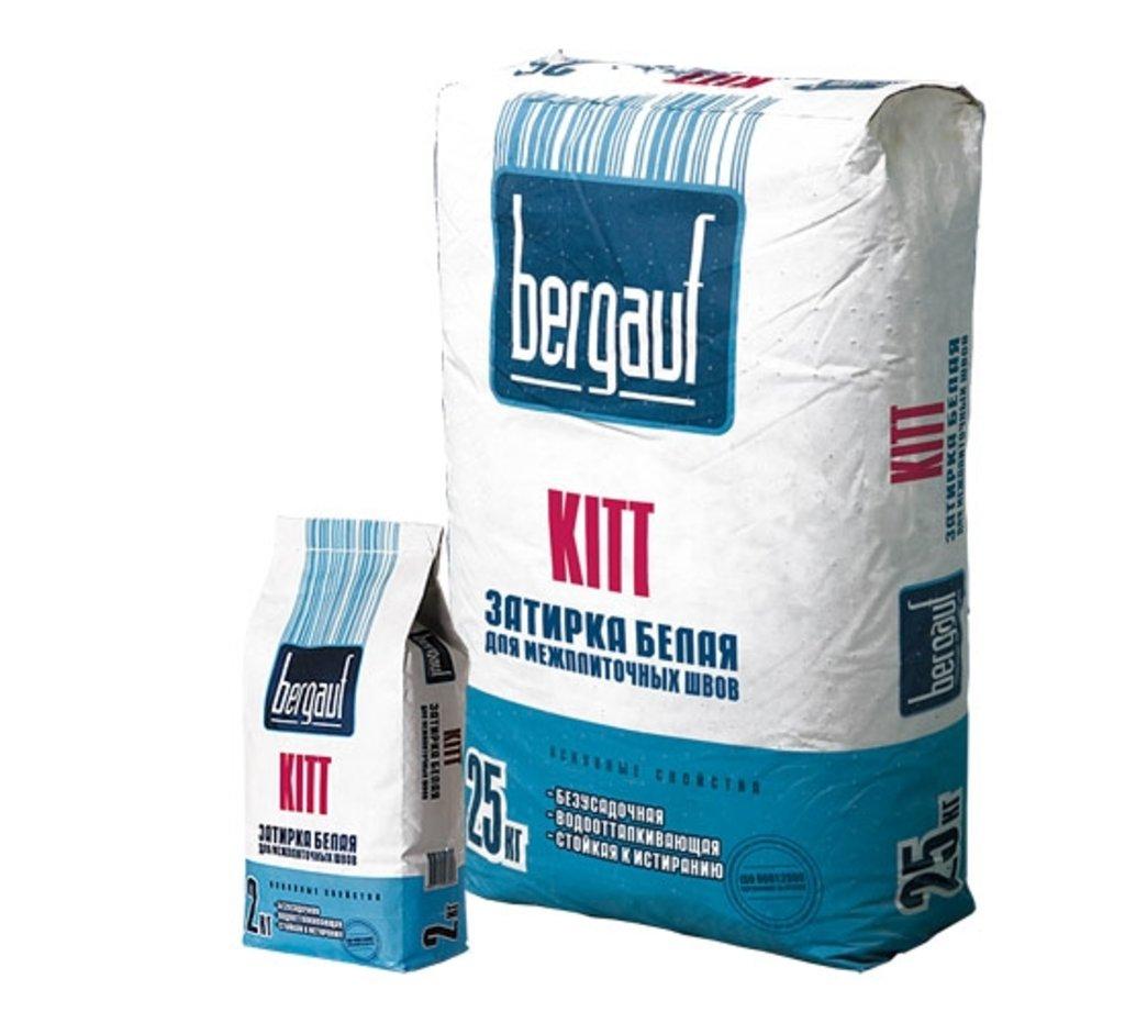 Сухие смеси Бергауф: Затирка серая Bergauf Kitt 2 кг в База строительных материалов ЯИК