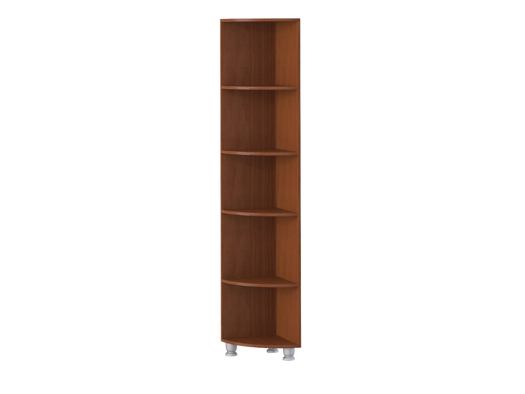 Книжные шкафы и полки: Полка угловая Элегия в Стильная мебель