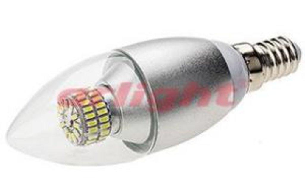 Цоколь Е14: E14 CR-DP-Candle 6W Warm White 220V в СВЕТОВОД