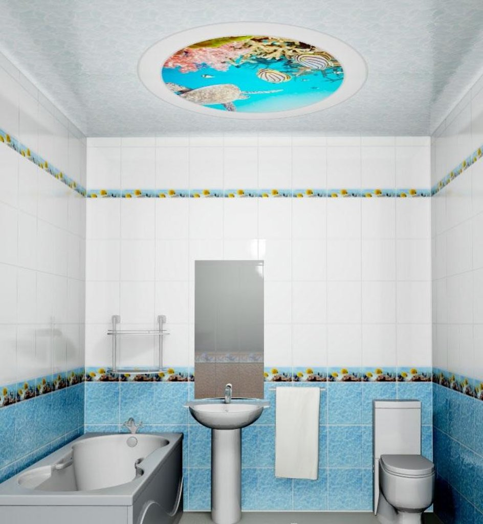 Панели Novita: Декоративный потолок Карибы в Мир Потолков