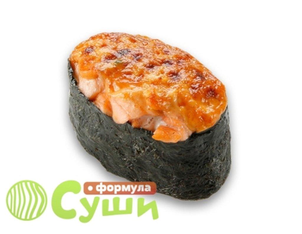 Суши: ЗАПЕЧЁНЫЙ ЛОСОСЬ в Формула суши