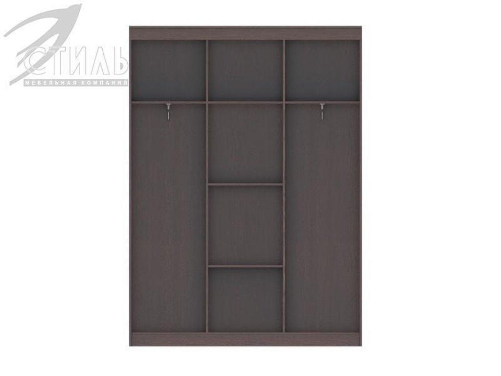 Шкафы: Шкаф-купе Комфорт-8 (Венге / Белфорд) в Диван Плюс